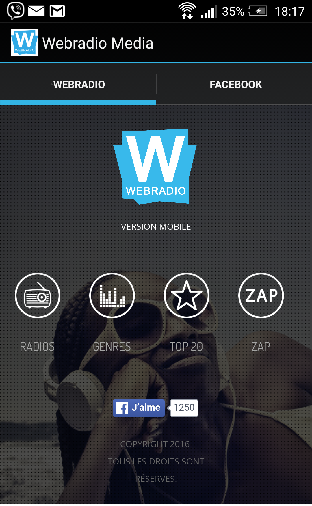 Ton application Webradio Media gratuite